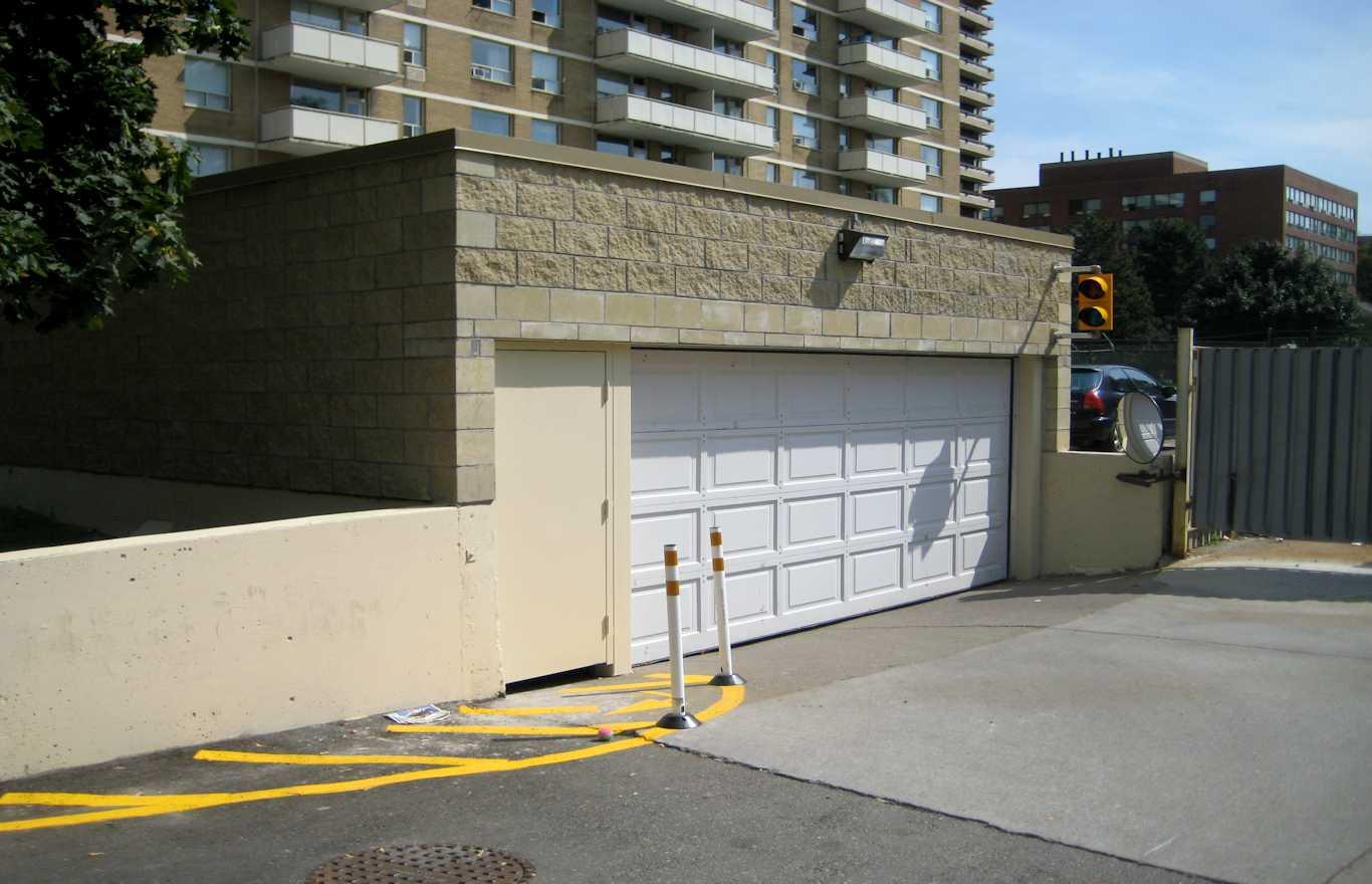Garage Ramp Enclosure Development