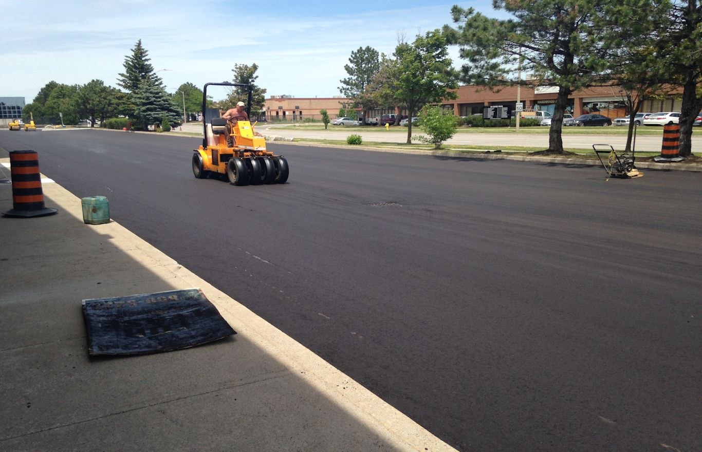 New Paving Project Image from Condition Assessments