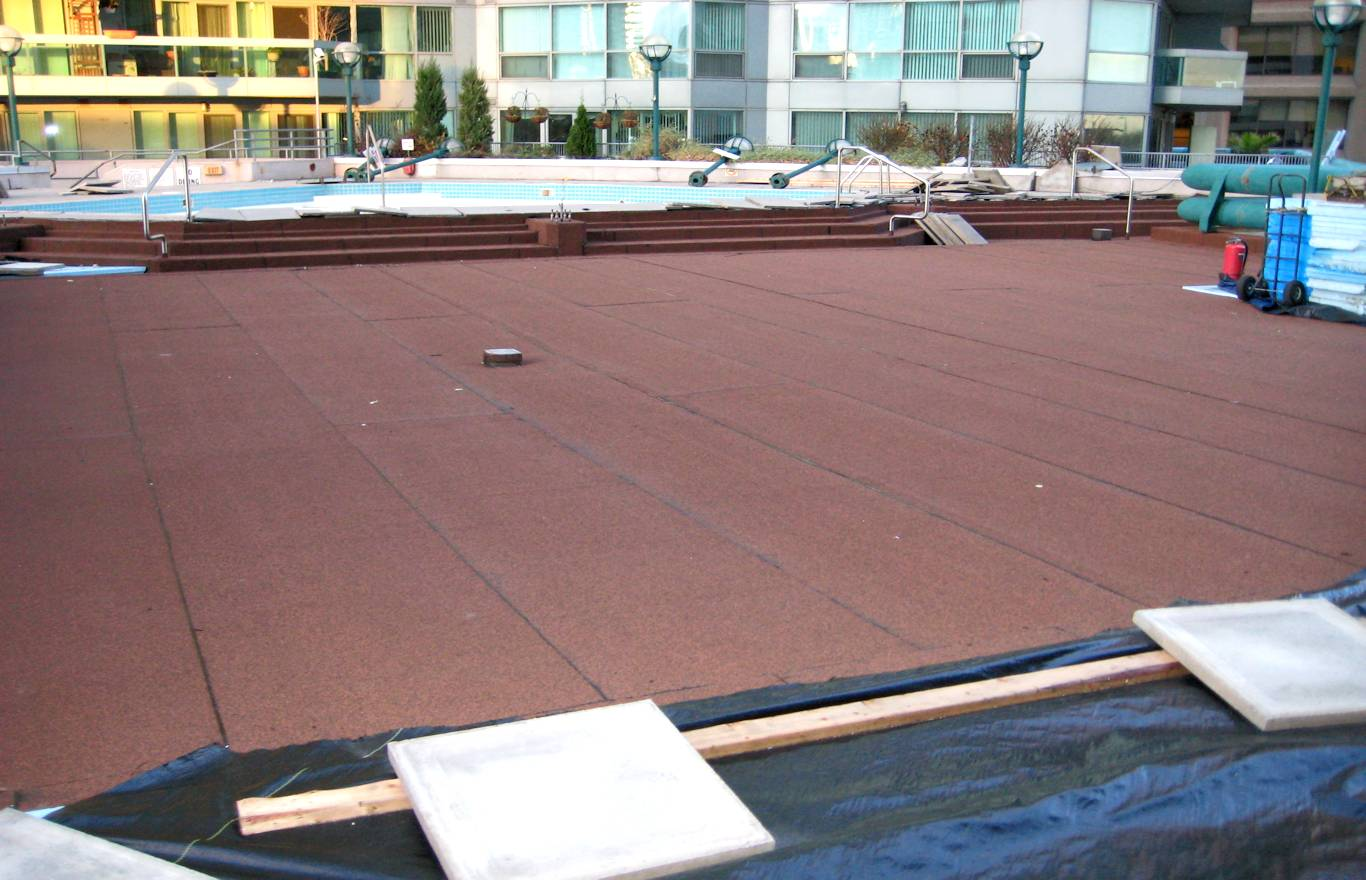 Roof Deck Reconstruction