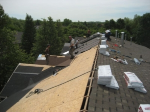 roofing inspection shingle replacement