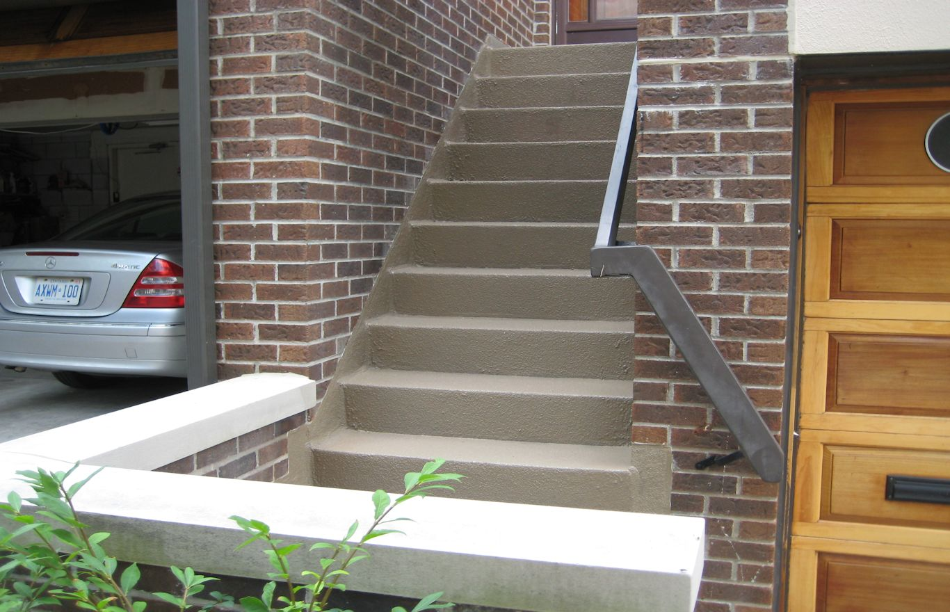 New Stair Update Thorn hill Town Home