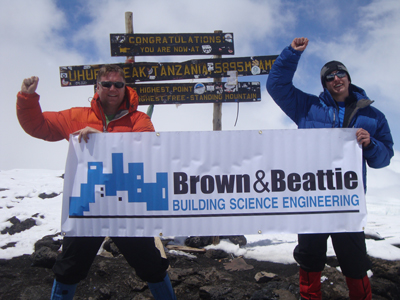 Stephen Brown Climbs Mt. Kilimanjaro