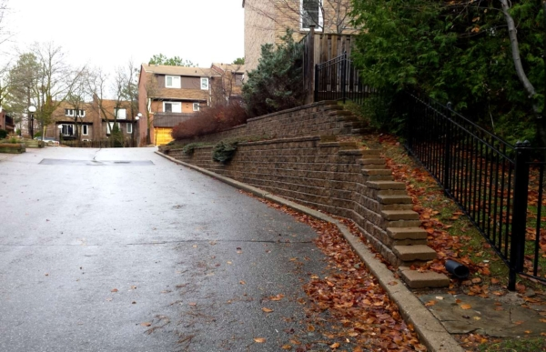 Retaining Wall Replacement After