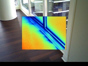 Air Leakage Thermal Scan from Window Frame