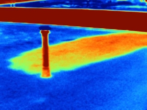 Roofing Project Flat Roof Thermal Scan