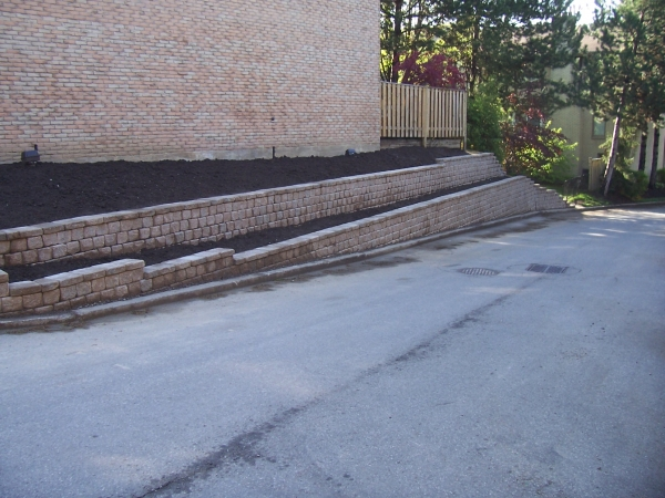 Retaining Wall Replacement 7