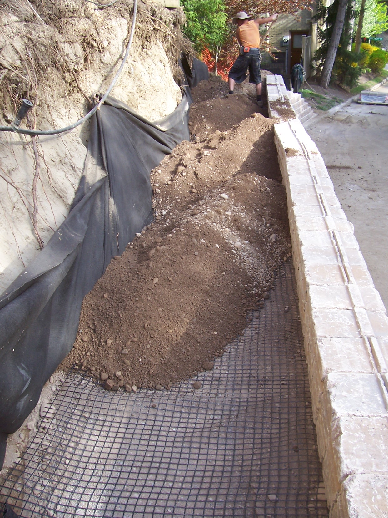 Retaining Wall Replacement 5
