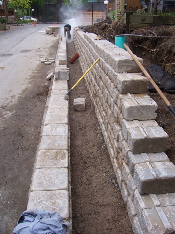 Retaining Wall Replacement 6