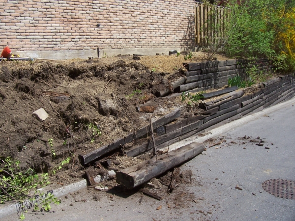 Retaining Wall Replacement 3